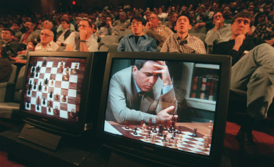 Gary Kasparov vs IBM Supercomputer Deep Blue
